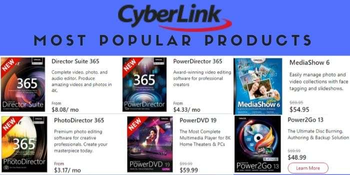 Cyberlink Products