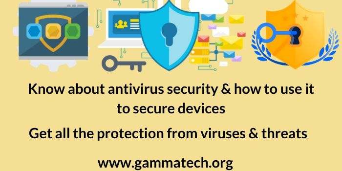 How to use Antivirus Security