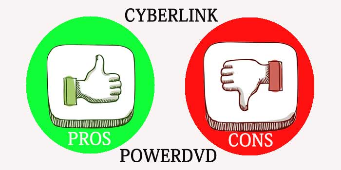 Pros and cons of PowerDVD