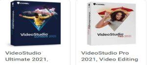 Corel Video studio ultimate 2021