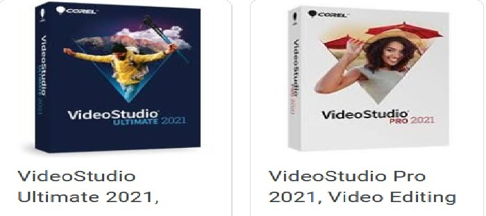 Corel Video studio ultimate 2021