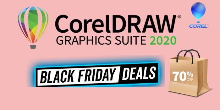 CorelDraw Black Friday Deals