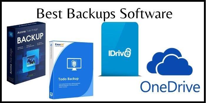 Best BackUp Software