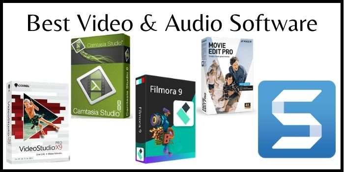 Best Video & Audio Software
