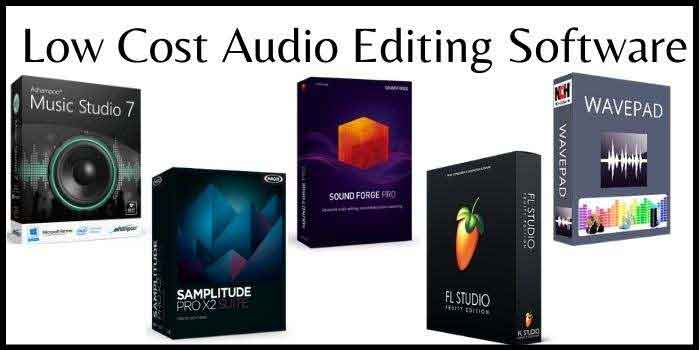 Low Cost Audio Editing Software