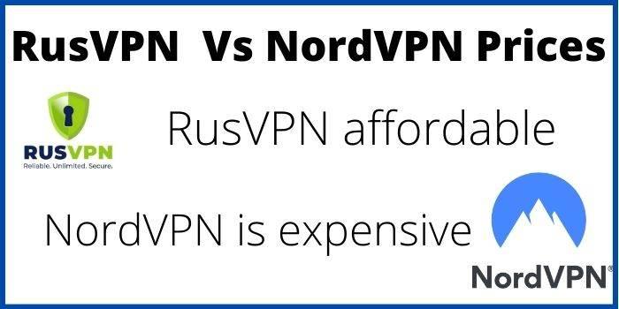 RusVPN And NordVPN Prices