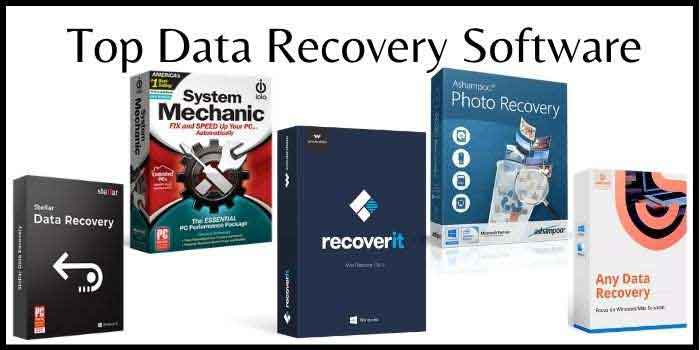 Top Data Recovery Software