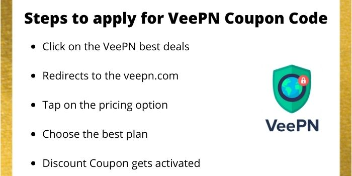 Steps To Apply For VeePN Promo Code