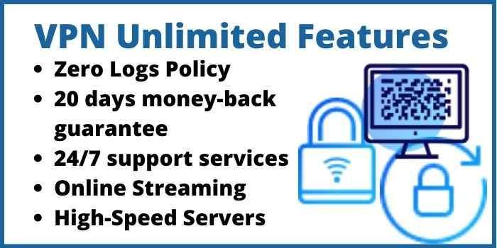 VPN Unlimited Features