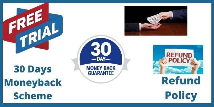 30 Days Moneyback Scheme