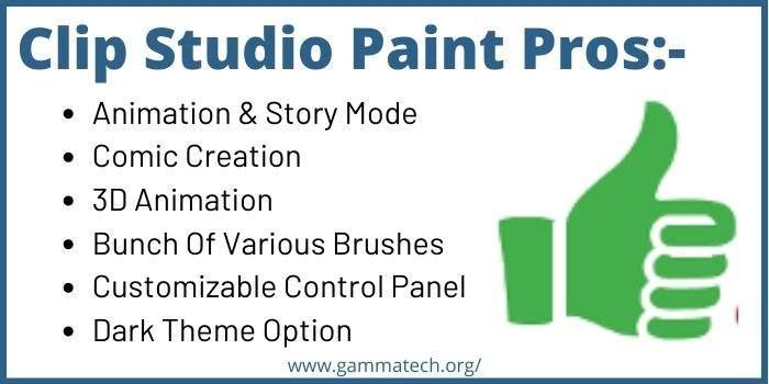 Advantages Of Clip Studio Paint
