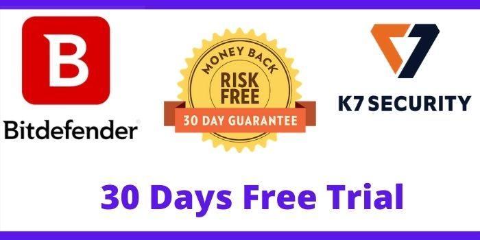 Bitdefender Vs K7 30 Days Free Trial