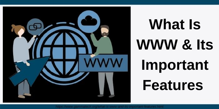 What is WWW and its importnat features