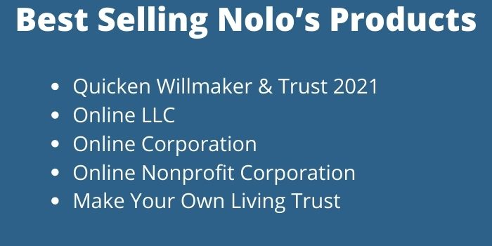 Best Selling Nolo's Products