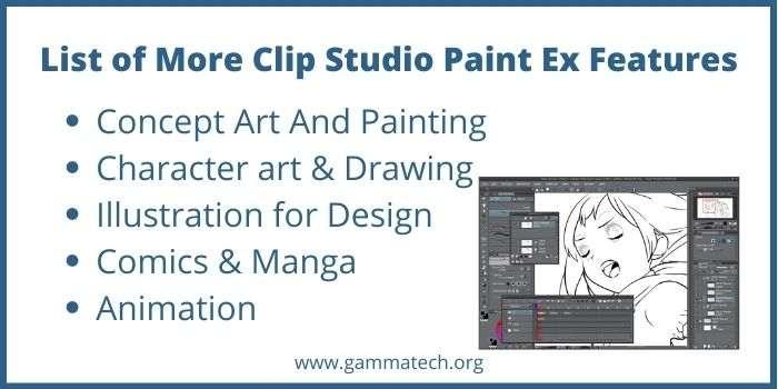 Clip Studio Paint Ex Version Upgrade