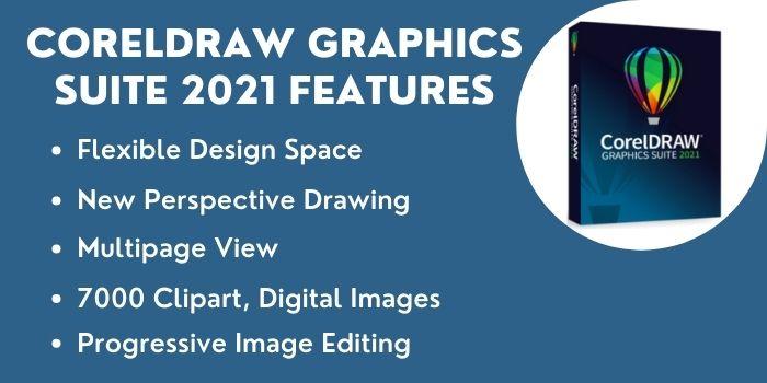 CorelDRAW Graphics Suite 2021 Features