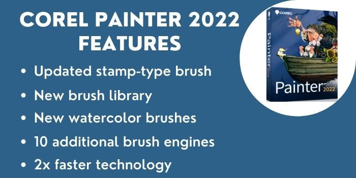 Features Of Corel Painter 2022