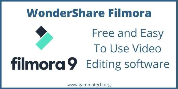 Free Wondershare Filmora