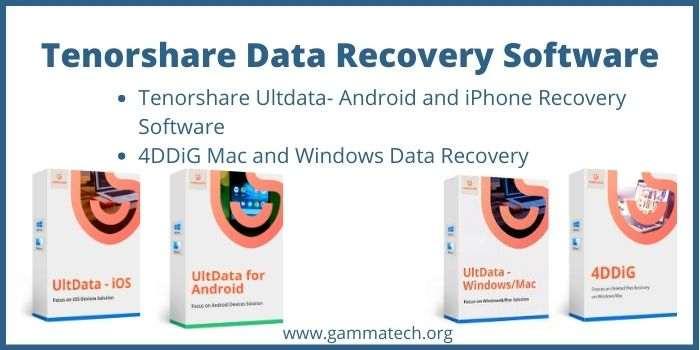 Tenorshare Data Recovery Software Promo Code