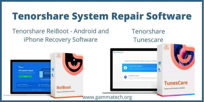 Tenorshare System Repair Software Discount Code