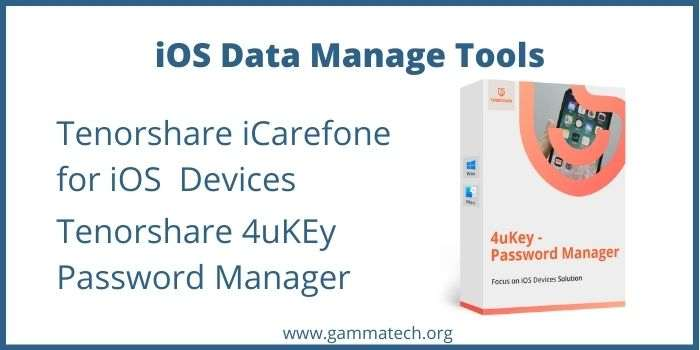 Tenorshare iOS Data Manage Promo Code