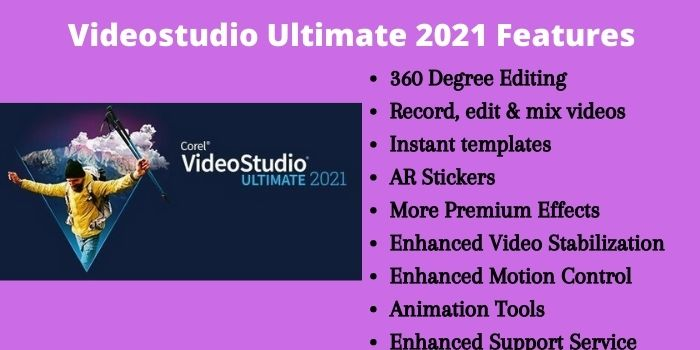 Videostudio Ultimate 2021 Features