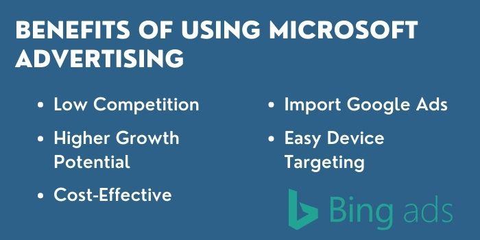 Benefits Of Bing Ads
