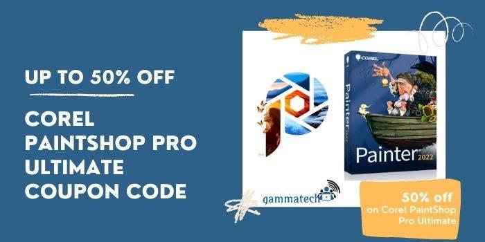 Corel Paintshop Pro Ultimate Coupon Code