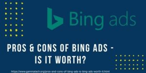 Pros & Cons Of Bing Ads