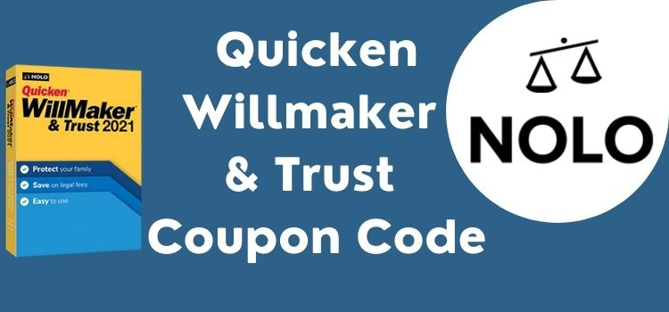 Quicken Willmaker & Trust Coupon Code