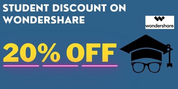 Wondershare Student Discount