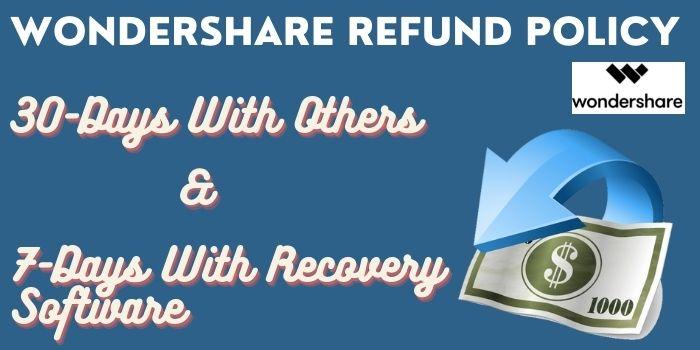 Wondershare Refund Policy