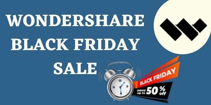 Wondershare Black Friday Sale